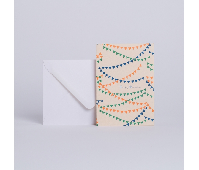 BIRTHDAY CARD PAPER CHAINS