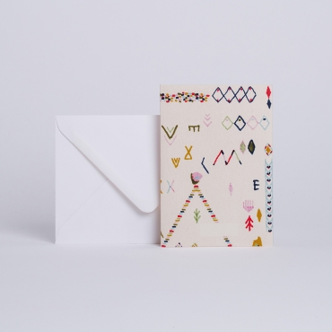 MESSAGE CARD AZILAL