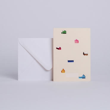 MESSAGE CARD MAISONS