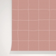 TRAME BLUSH WALLPAPER