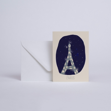 CARTE PARIS JE T'AIME