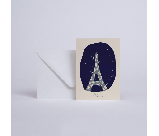CARD PARIS JE T'AIME