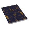 BLUE A6 NOTEPAD