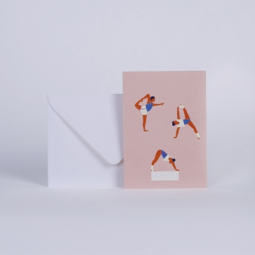 MESSAGE CARD YOGA