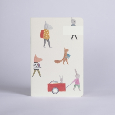 NOTEBOOK LES ANIMAUX SEASON PAPER X MAISON ELIZA