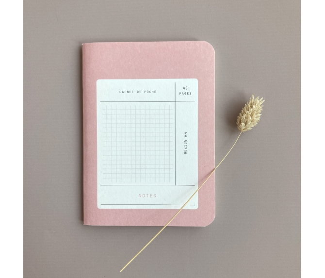 MINI POCKET BOOK BLUSH