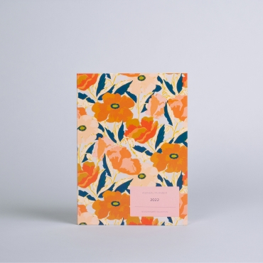 PLANNER COQUELICOT AUTOMNE / Available from September 20th
