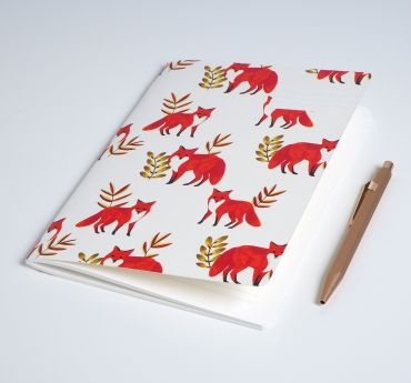 NOTEBOOK FOXES