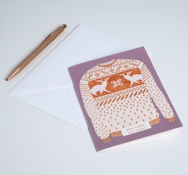 """CARD MY PULL-OVER """"BEST WISHES"""""""